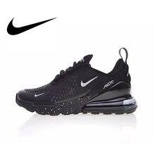 fe385254 Аутентичные Nike Air Max 270 для мужчин's кроссовки Спорт на открытом  воздухе оригинальный спортивная обувь дышащие