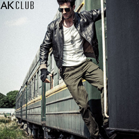 AK CLUB Brand Pants The Expendables 3 Cavalry Military Style Pants For Men Casual Trousers Slant
