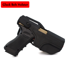 New Type Military Glock 17 19 23 Belt Holster Right Hand Quick Drop Airsoft Hunting Shooting Gun Carry Case