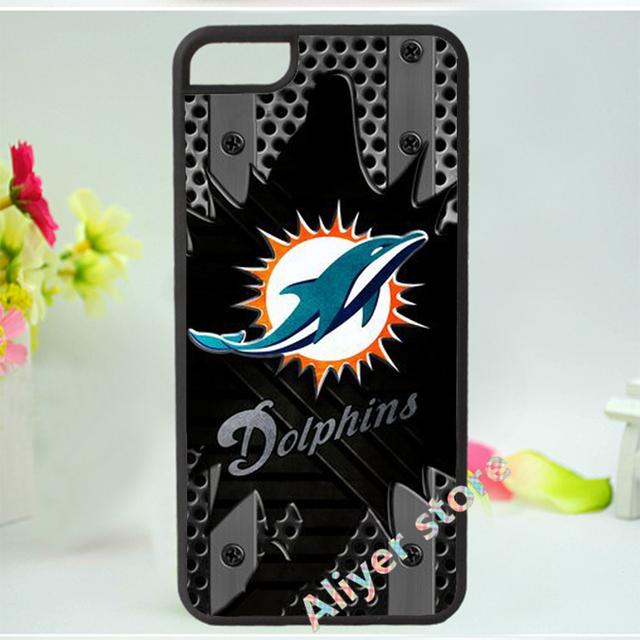 Cheap NFL Miami Dolphins IPhone 55S Case_3  free shipping