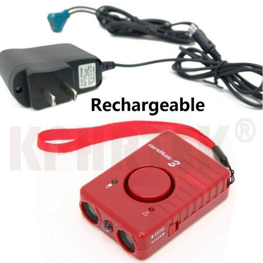 Original Ultrasonic Dog repeller Dog Repellent Sonic Deterrent Pet Chaser Super Powerful Rechargeable 3