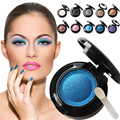 1pcs Eye shadow Palette in Shimmer Metallic 10 Colors Baked Eyeshadow Natural Pigment Eyeshadow Palette Cosmetic  M01514