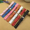 Quality Genuine Leather Watchband 14mm Colour Ladies Watch Strap For Pebble Time Round For Womens