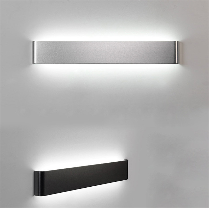 HTB17SAyaN rK1RkHFqDq6yJAFXaO - CLAITE Modern minimalist LED aluminum lamp bedside lamp wall lamp room bathroom mirror light direct creative aisle