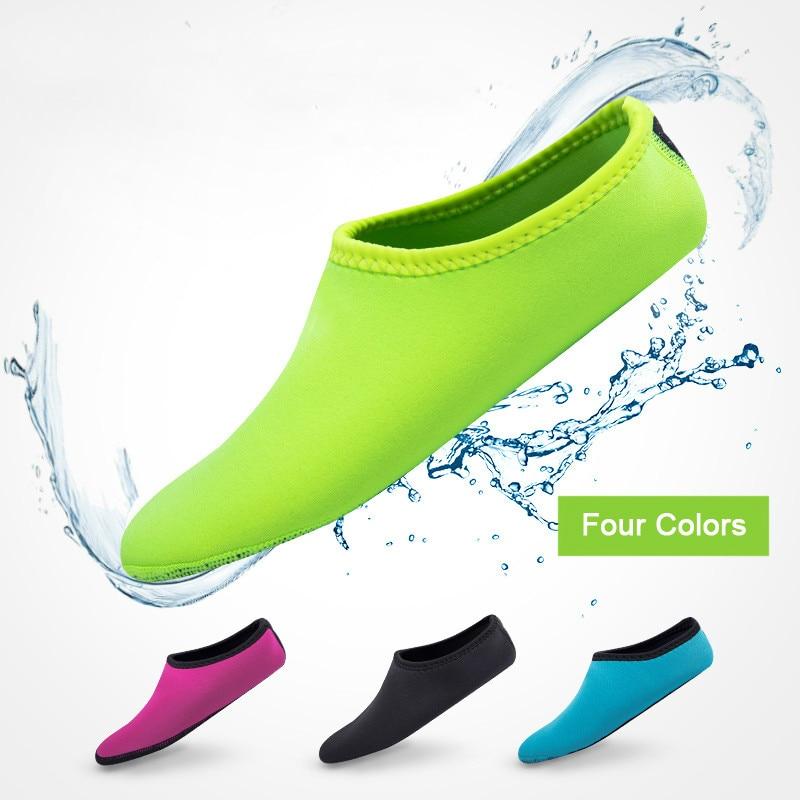 Women Men Water Shoes Aqua Socks Diving Socks Wetsuit Non-slip Swim Beach Sea