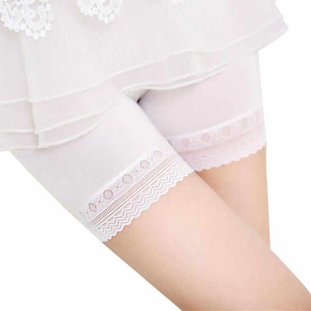 Hot pants mulheres boxer segurança shorts Mulheres Saias de Renda Em Camadas Saia Curta Sob Segurança shorts Calças Cueca Lingerie Meninas 1.7