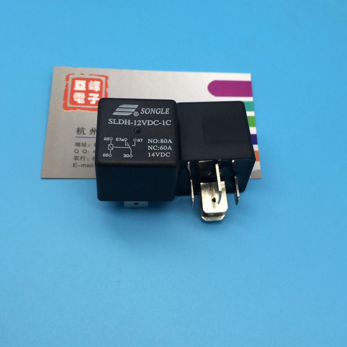 Song Le relay SLDH 12V 1C a set of conversion 5 pin 60A14V