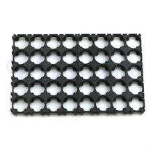 4x preto 18650 bateria bateria 4×5 spacer irradiada gabinete titular recipiente de calor de calor de plástico