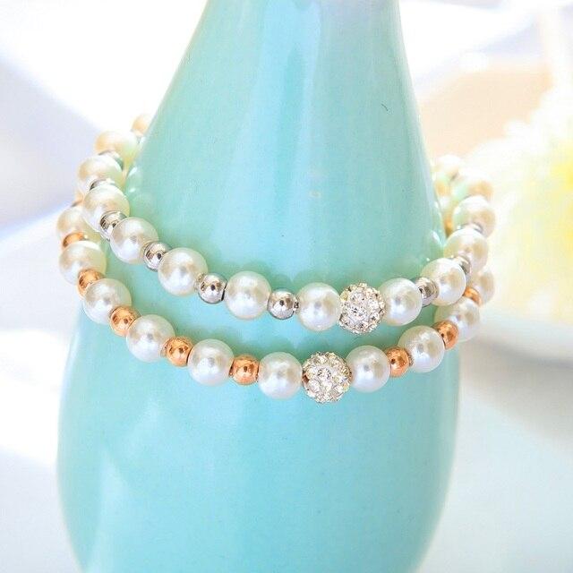 Модные браслеты из розового золота для женщин темпераментные