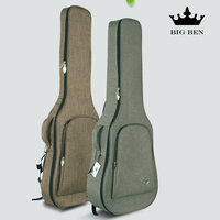 23 Inches Thick Water Proof Oxford Cloth Small Guitar Bag 26 Inch Black Quality Ukulele Backpack