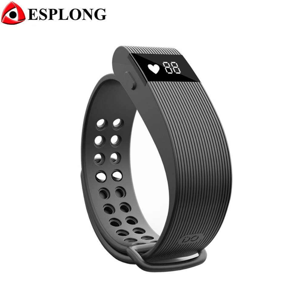 ID105 Smart Band Fitness Tracker Bluetooth 4 0 Heart Rate Monitor Pulse Sports Smart Bracelet with