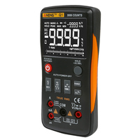 ANENG Q1 True RMS Digital Multimeter Counting Analog Tool Bar Graph AC / DC Voltage Ammeter Current Ohm Auto/Manual