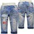 4006 детские джинсы брюки джинсовые синий весна и осень дети мальчики джинсы брюки мода повседневная новая мода хороший новый