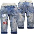 4006 calças de brim do bebê calças jeans blue spring & autumn crianças bebê meninos calças jeans moda casual nova moda agradável novo