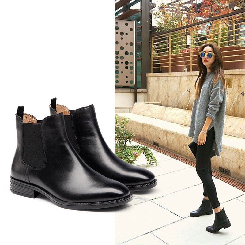 With many of the same characteristics as the classic boots above, a printed Chelsea boot is a great way to play up its classic look. Take, for example, this fabulous leopard style! Take, for .
