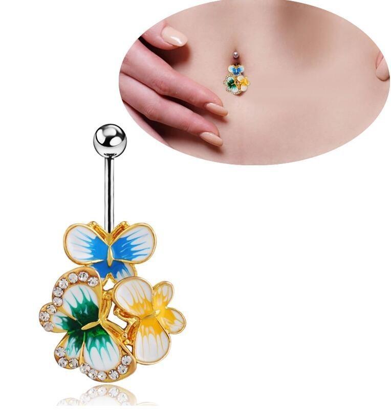 HTB17SCEOFXXXXaPaXXXq6xXFXXXZ Exquisite Body Piercing Jewelry Party Navel Ring - 18 Styles