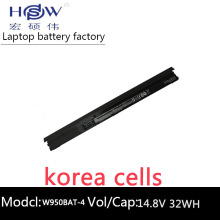 Genuine original 14.8V 32Wh W950BAT-4 Laptop Battery For Clevo 6-87-W95KS-42F 6-87-W95KS 4ICR18/65 bateria akku