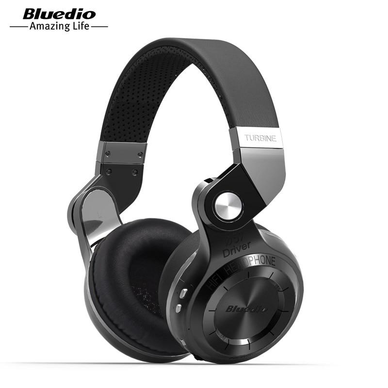 2017 Hot Sale Top Fashion Microphone Headband Earphones Original Bluedio T2S Bluetooth Stereo Headphones Headset For