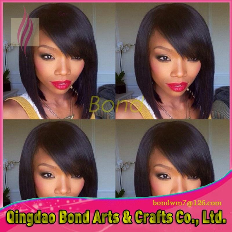 7A Best Glueless Full Lace Wig font b Virgin b font font b Brazilian b font
