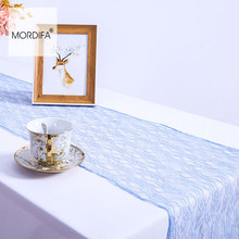 cheap table runners modern embroidery lace table runners new year christmas wedding rose gold the path