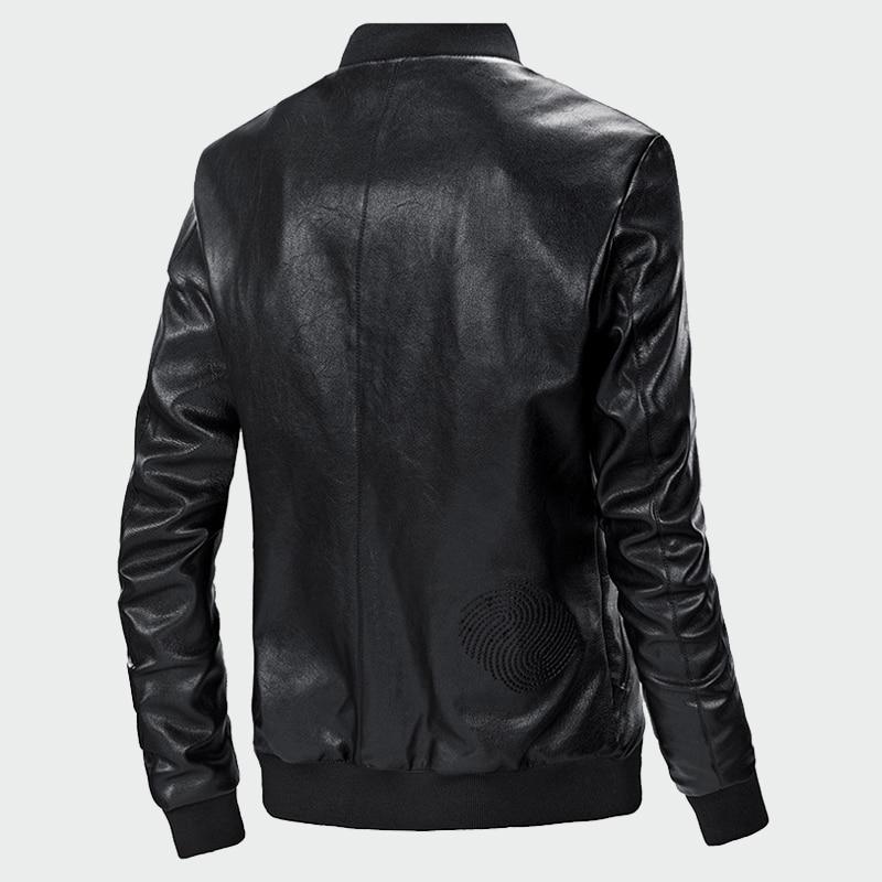 De Faux Mince Cuir 3xl Pu Veste S Hommes Automne Vestes Vêtements blue Moto En Marque Black Cycliste Manteaux Ml033 PABHWWcE