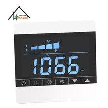 Cieplarnianych dwutlenku węgla detektor alarm z przekaźnika kontroli systemu wentylacji filtr ekranu
