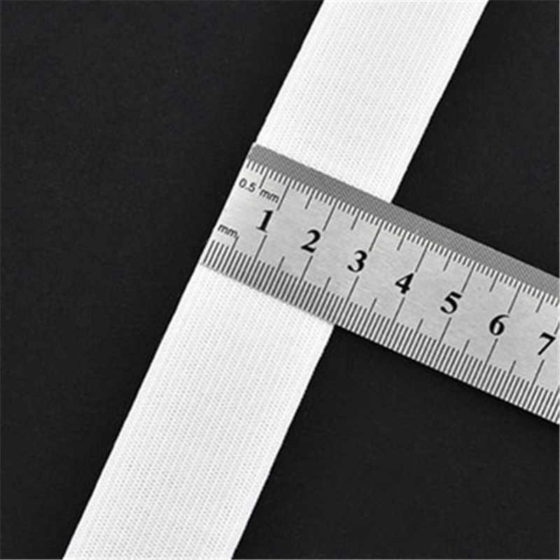 Ширина 0,6-4 см 2 м белая черная резинка спандексный Пояс отделка шитье/лента одежда гибкий швейный материал для шорт юбка траус