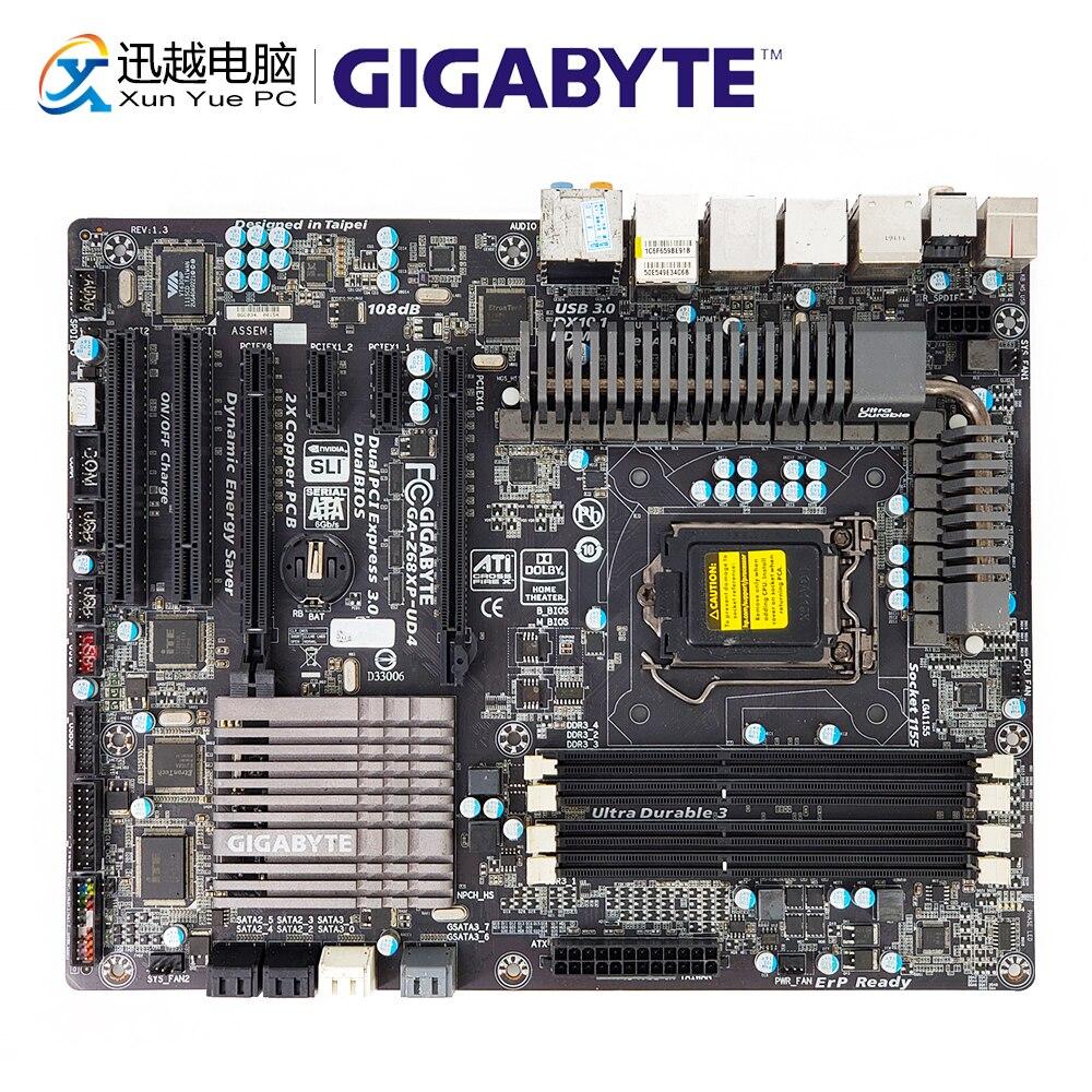 Gigabyte GA Z68XP UD4 Desktop Motherboard Z68XP UD4 Z68 LGA 1155 Core i7 i5 i3 DDR3 32G SATA3 USB3.0 HDMI IEEE1394 ATX