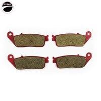 CARBON CERAMIC BRAKE PAD Front For HONDA CBR 400 RR 90 94 VFR 750 90 97 PC 800 89 98 CBR 1000 89 92 ST 1100 96 02