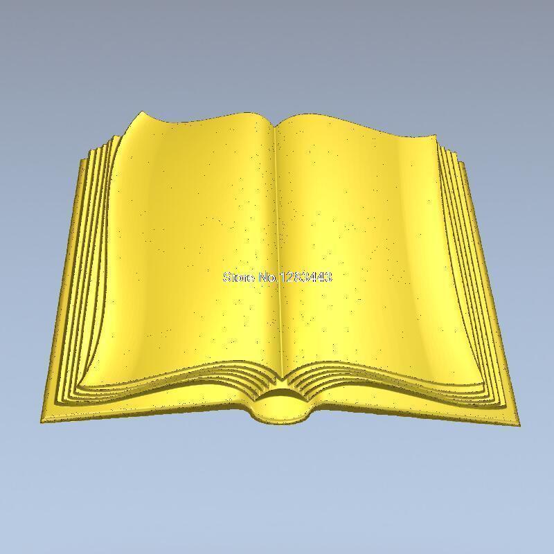Высокое качество новая 3D модель для ЧПУ 3D резная фигура скульптура машина в STL файл книги