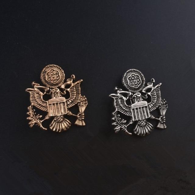 2017the новый дизайн персонажа в Европе и Америке медаль Свободы брошь модные мужские костюмы Продажа булавка значок