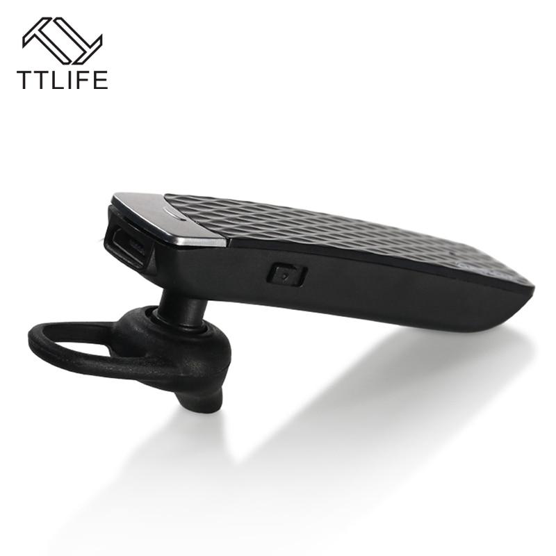 2016 1Piece TTLIFE Brand  Auriculares inalambricos Ear Hook Sereo Headset Bluetooth Earphone Mini V4.1 Wireless Handfree