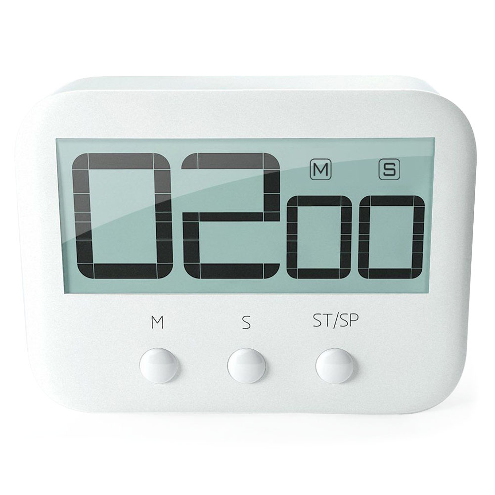 Practical Design Digital LCD Large Screen Display Kitchen Timer ...