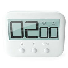 Cooking-Timer Clock Count-Down-Up Kitchen Timing-Tool Magnetic Digital Loud Alarm LCD
