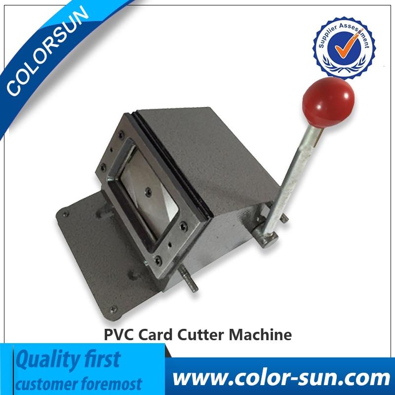 Manual PVC card cutter 86*54mm, pvc sheet cutting machine manual paper processing card cutter business card cutter customized cutting size round corner