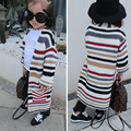 new casaul kids clothes winter long-sleeve knitted sweater long sweater baby girls toddler cute girls sweater children