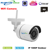 Wireless HD 2.0MP 1080P IP Camera Network Onvif Outdoor Security Waterproof Night Vision CCTV security surveillance system