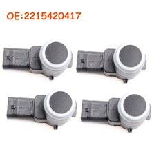 4 PCS Car accessories 2215420417 A2215420417 For Mercedes W211 W219 W203 W204 W221 New PDC Parking Sensor Car Auto Parts
