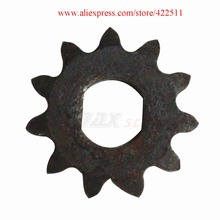 Electric Scooter Front Chain Sprocket  25H 11Teeth Electric Motor Sprocket  Electric Scooter Motor Pinion цена