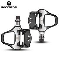 ROCKBROS SPD SL Cycling Pedals MTB Road Bike Bicycle Self Locking Pedal Ultralight Aluminum Alloy 2