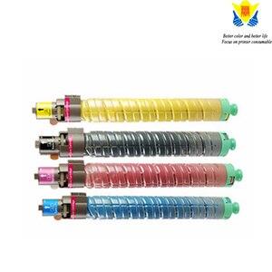 Image 5 - JIANYINGCHEN cartouche de Toner de couleur Compatible avec ricoh, pour imprimante laser, MPC2000, MPC3000, MPC2500 (lot de 4 pièces)
