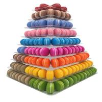 9 Tiers Cupcake Display Rack And Stand Holder Macaron Tower Macaroon Display Cake Stand Birthday Party Wedding Decoration Tool
