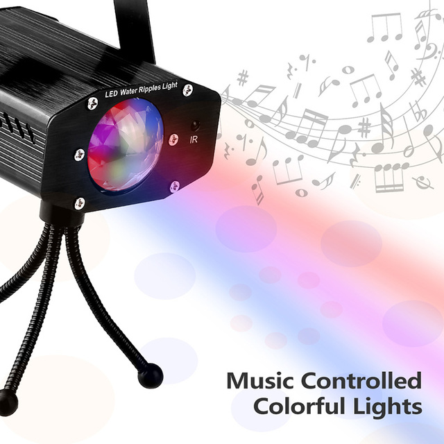 mini rgb 9w sound activated christmas projector led stage light lumiere disco laser dj party dmx show stage lighting effect lamp in stage lighting