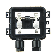 1 Pcs 10W-50W Solar Junction Box With Cable Connector For PV Solar Panel