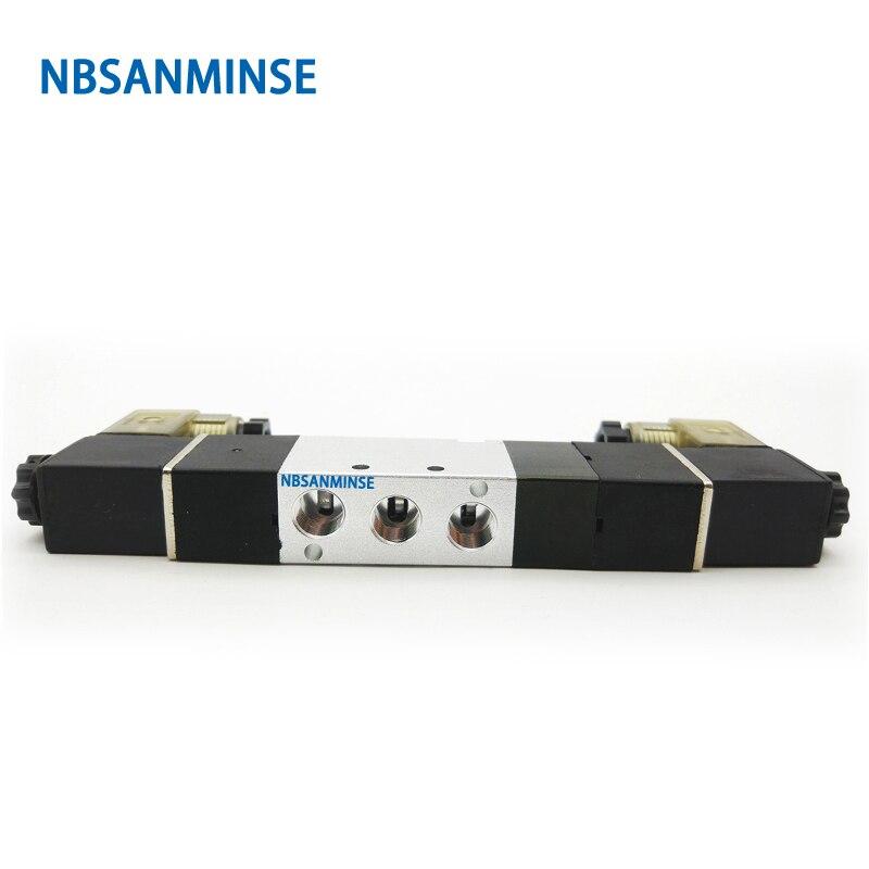 NBSANMINSE 4V110 4V120 4V130 M5 G 1 8 Air Solenoid Valve AirTac Type Pneumatic Air Valve in Valve from Home Improvement