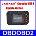 Newest CReader VIII Released Update Via Launch Offical Website X431 Creader 8 Scanner DHL Free