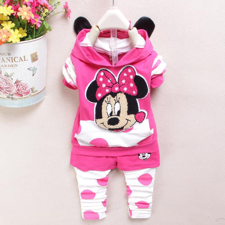 Hot Sale Spring Cute Cartoon Hello Kitty Newborn Baby Girl Clothing