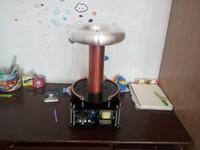 Mini DRSSTC Tesla coil custom