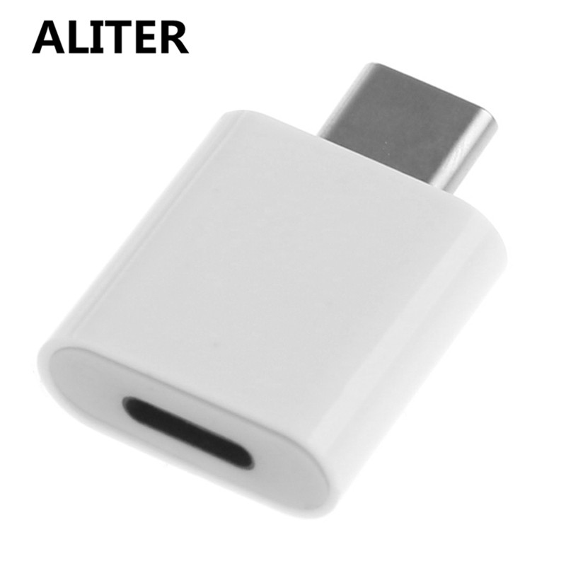 ALITER 8-Pin Lightning Female To Type C Male Adapter Converter For Oneplus Huawei