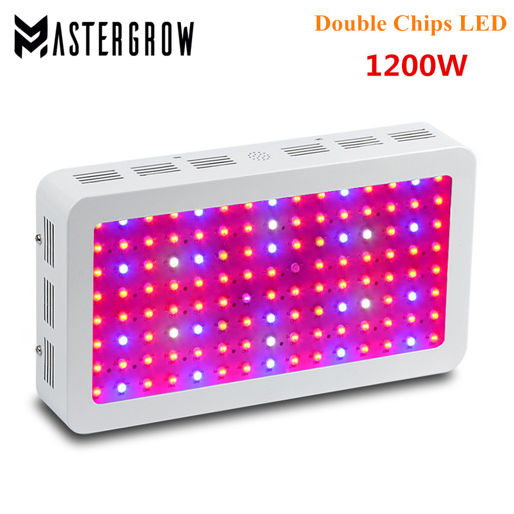 3PCS 1000W 1200W 2000W Double Chips LED Grow Light Full Spectrum 410 730nm Red Blue White